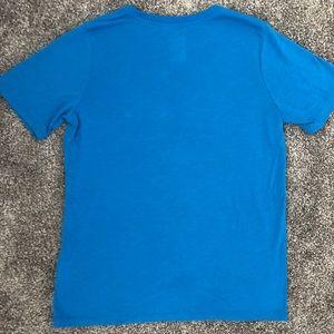 Nike Shirts & Tops - NIKE TEE - Size L Boys - Blue w/Black Pocket